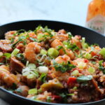 Healthy Jambalaya with Sausage & Shrimp