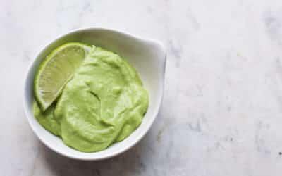 Creamy Avocado Lime Sauce