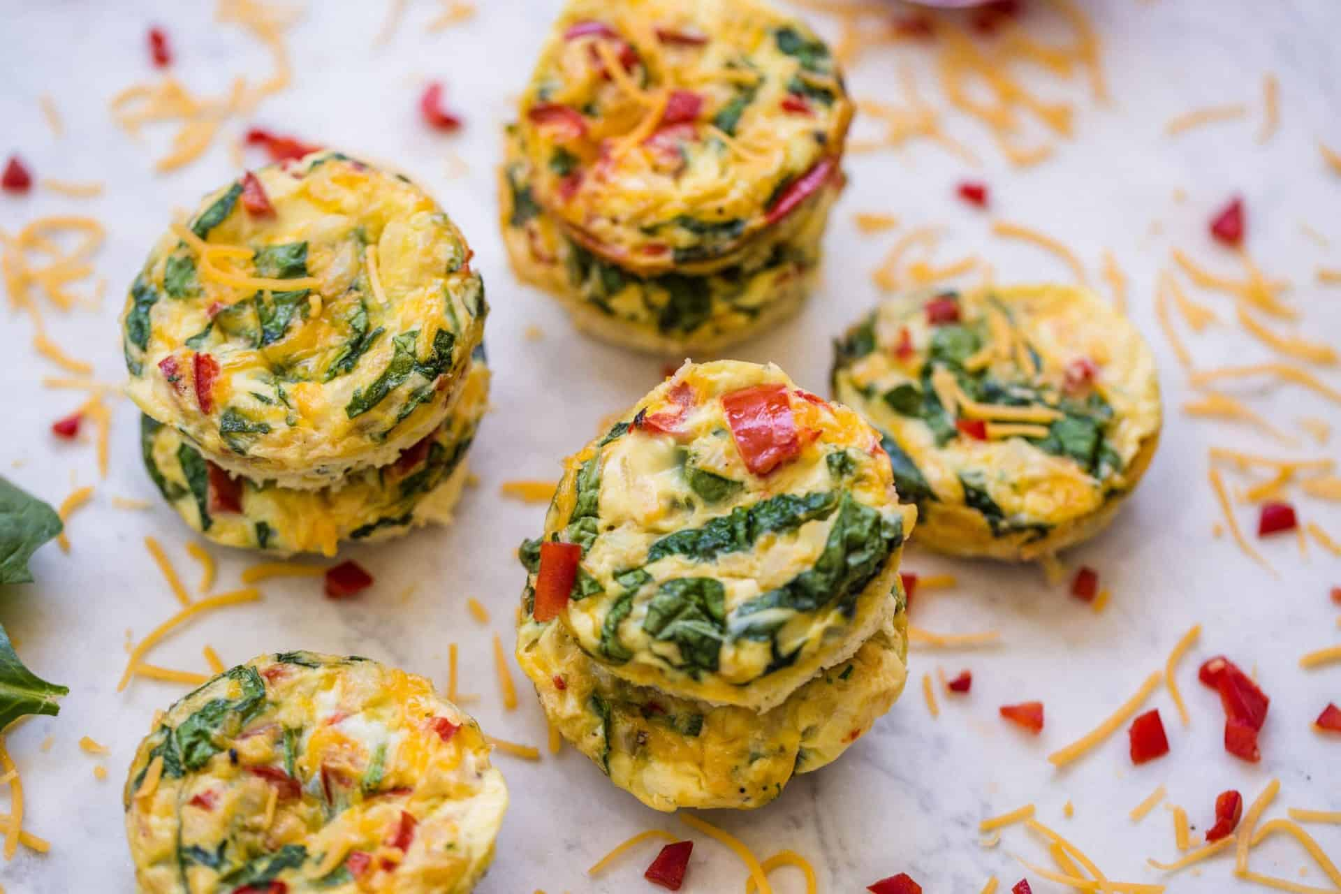 eggs, muffins