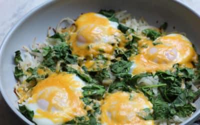 Eggs Florentine Skillet