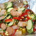 Foil Packet Cajun Shrimp