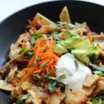 Recipe, Mexican, Enchilada, Chicken, Dinner, Lunch, Bowls