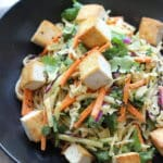 Sesame Noodle Bowls With Seared Tofu