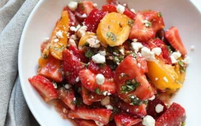 Heirloom Tomato & Strawberry Salad