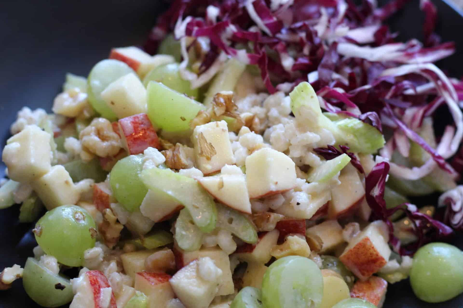 Dinner, Quick & Easy, Waldorf salad