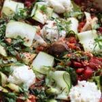 Turkey, Lasagna, One Pot, Dinner, Gluten-Free, Zucchini