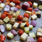 Sheet Pan, Dinner, Quick & Easy, Ratatouille, French, Antioxidants