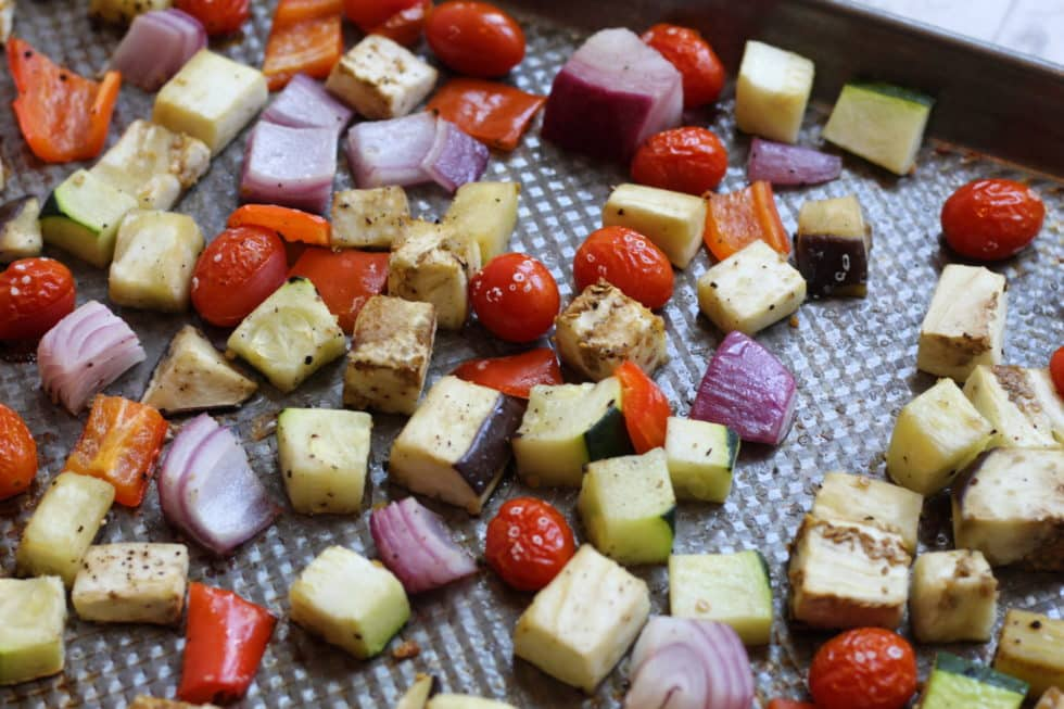 Sheet Pan, Dinner, Quick & Easy, Ratatouille, French, Antioxidants