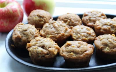 Apple Olive Oil Muffins