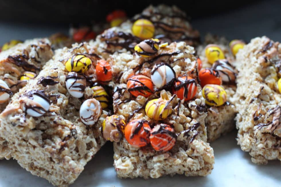 Butterscotch Rice Crispy Bars