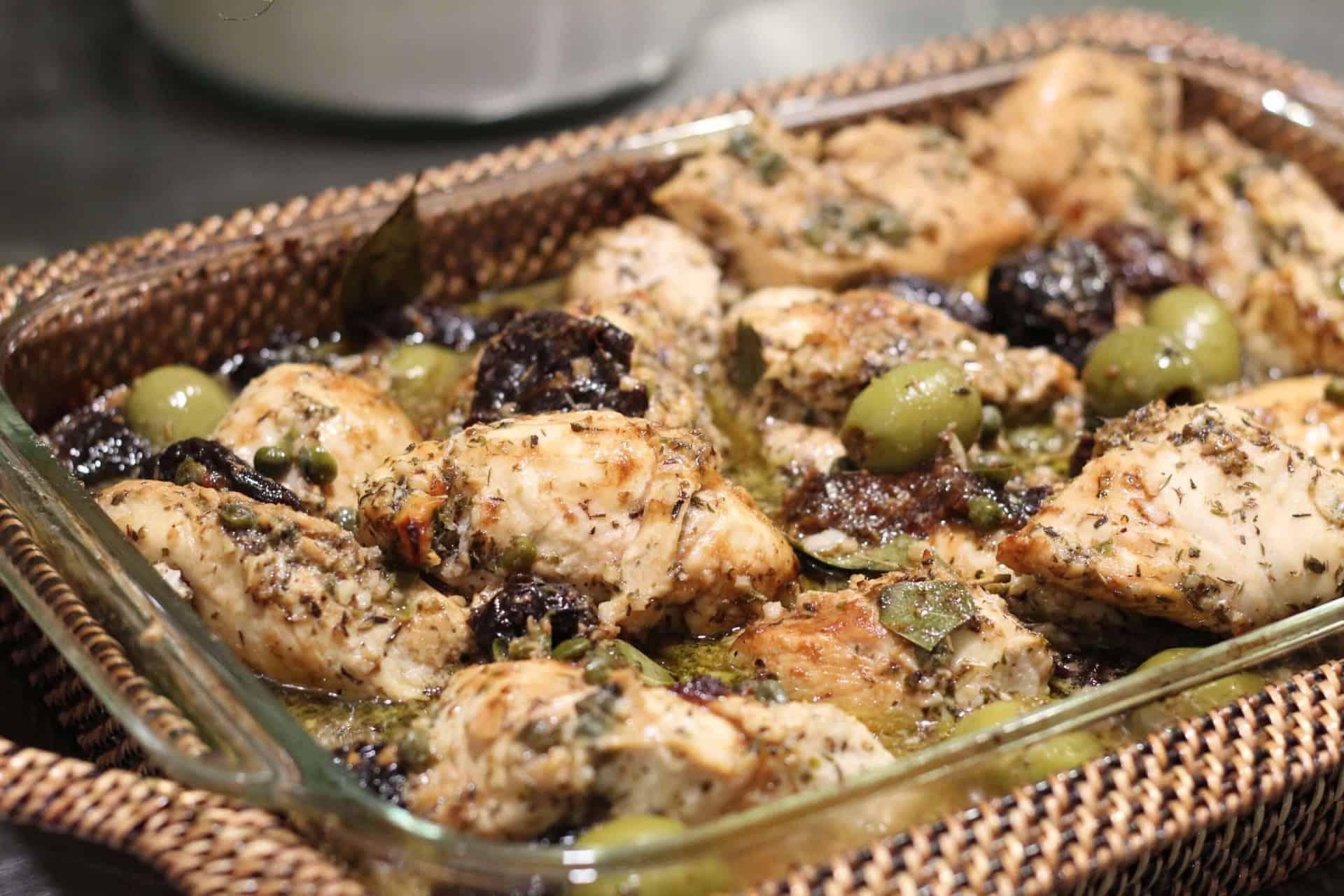 Chicken, Dinner, Olives