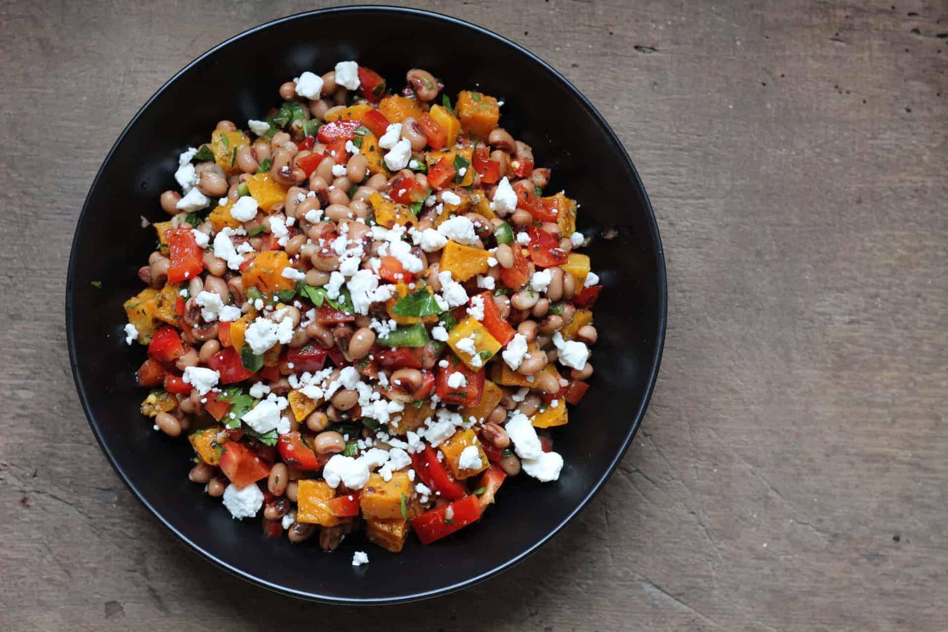 Mediterranean Diet, Mediterranean, Side Dish, Legumes, Heart Health, Gluten-Free, Salads, Quick & Easy, Vegetarian, Fall