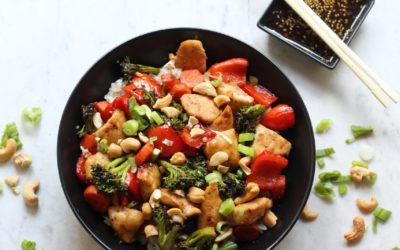 Teriyaki Chicken and Veggie Bowls