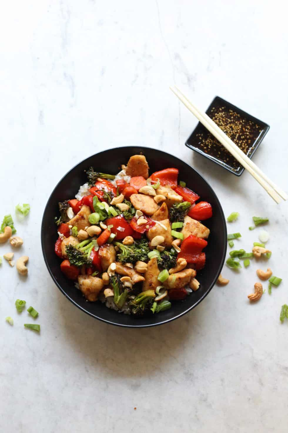 Dinner, Chicken, Quick & Easy, Sheet Pan, Bowls