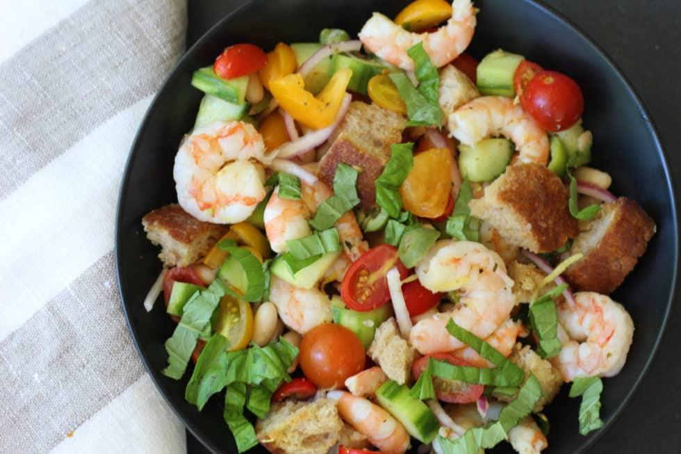 Dinner, Seafood, Shrimp, Summer, Salads