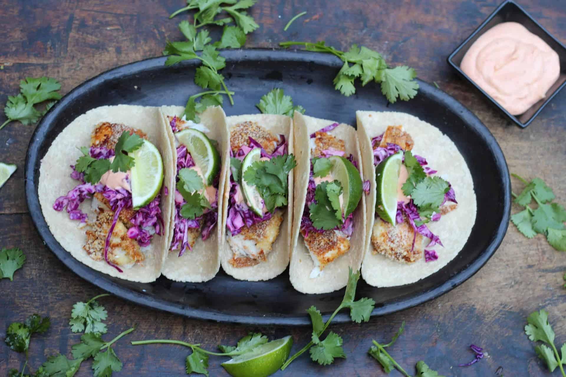 Tacos, Air Fryer, Dinner, Fish, Summer