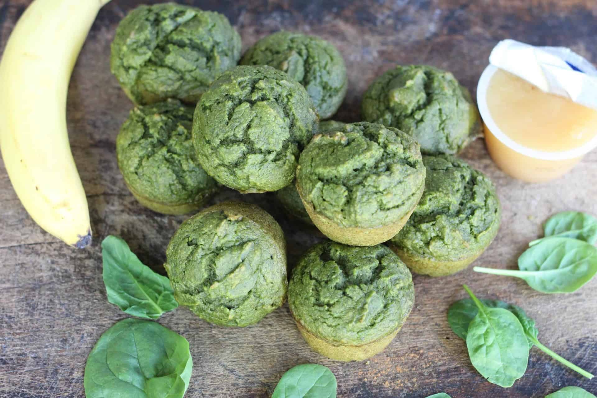 Dessert, Kid Friendly, Kids, Spinach, Snacks, Vegetarian, Quick & Easy