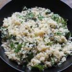 Side Dish, Vegetarian, Quick & Easy,, Cauliflower Rice, Cauliflower, Mediterranean diet