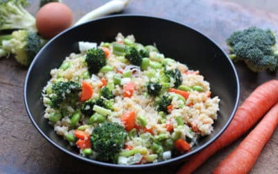 "Cauliflower Stir ""Fried"" Rice"
