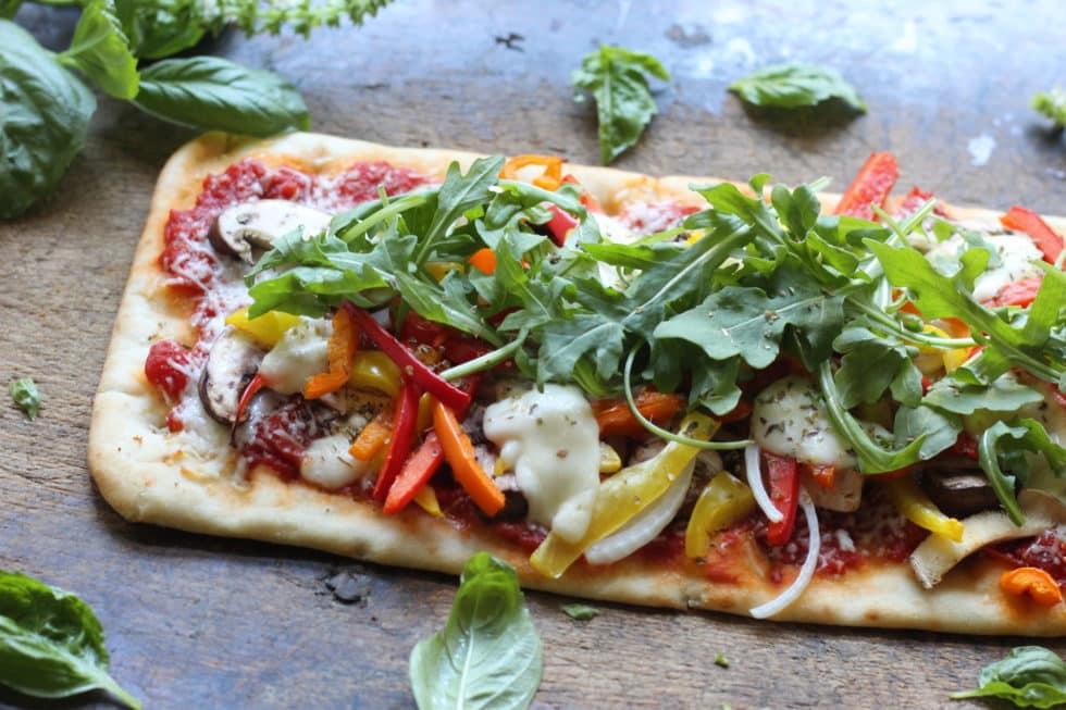 Pizza, Dinner, Quick & Easy, Vegetarian, Mediterranean, Mediterranean diet