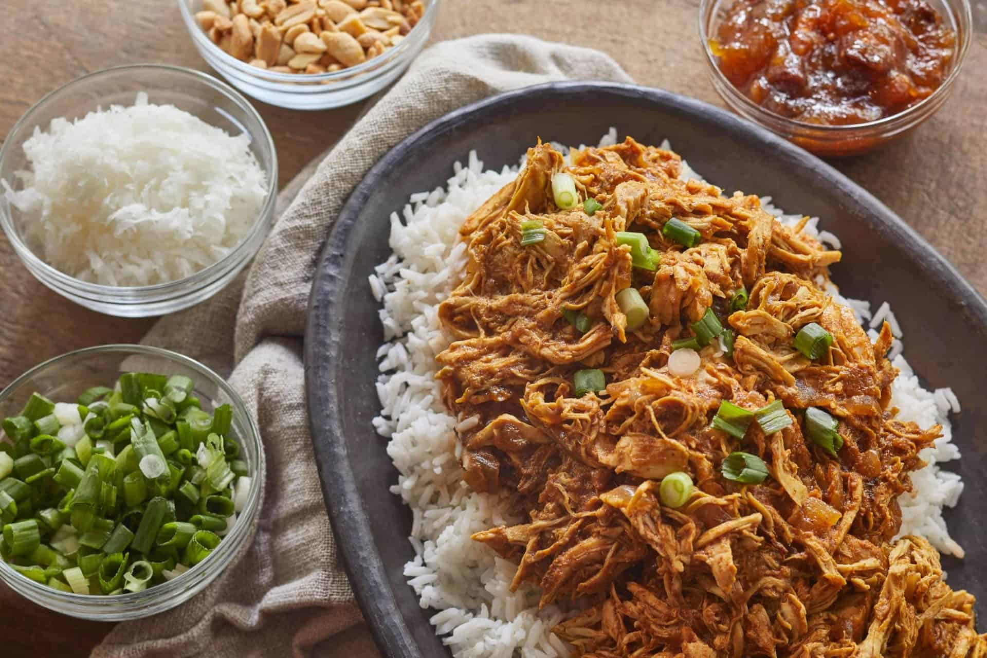 Slow Cooker, Chicken, Curry, Fall, Winter, Quick & Easy, One Pot