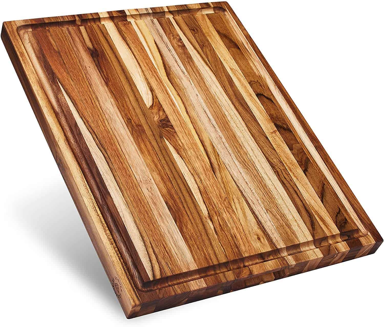 15 teak cutting board