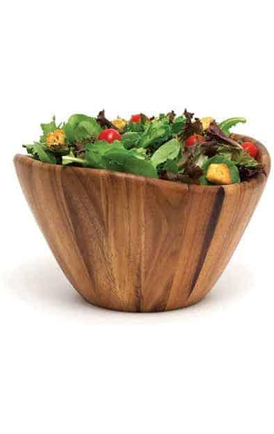 19 wood serving bowl