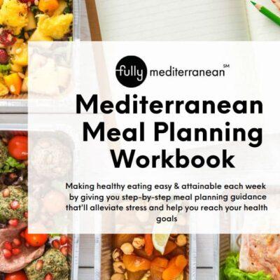 fully mediterranean meal planning workbook