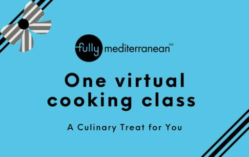 cooking class gift card