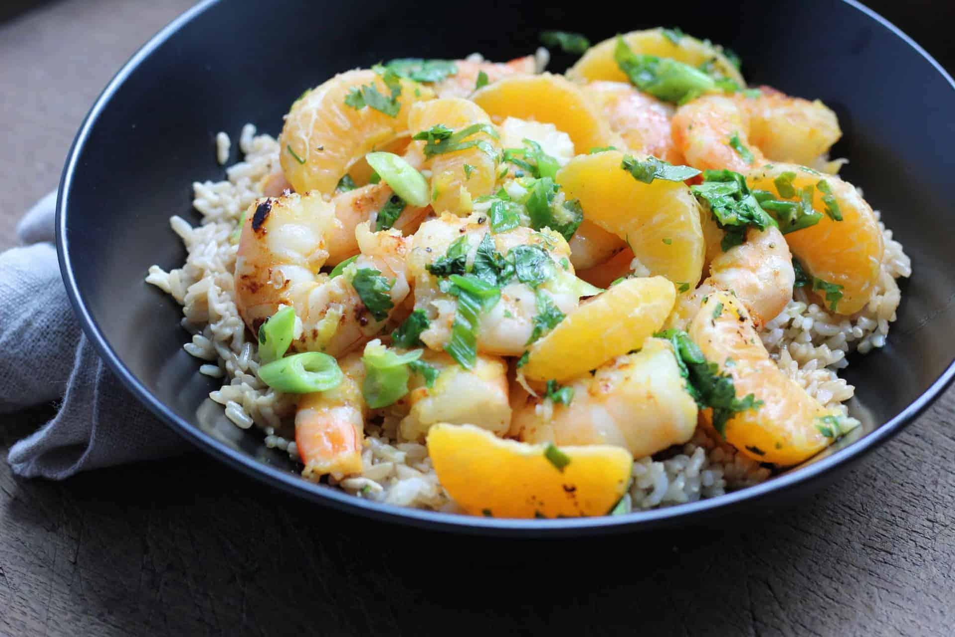Shrimp, Seafood, Dinner, Omega-3s, Quick & Easy, Winter