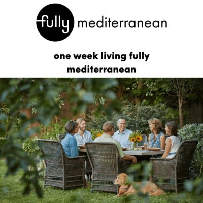 one week of living fully mediterranean version2