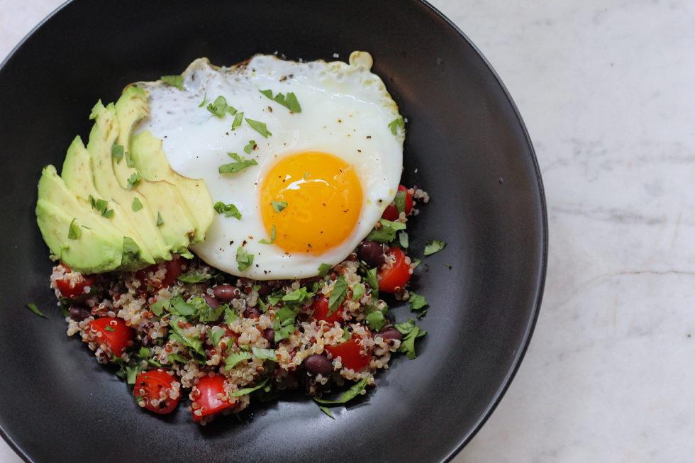 Quinoa, Eggs, Vegetarian, Breakfast, Quick & Easy