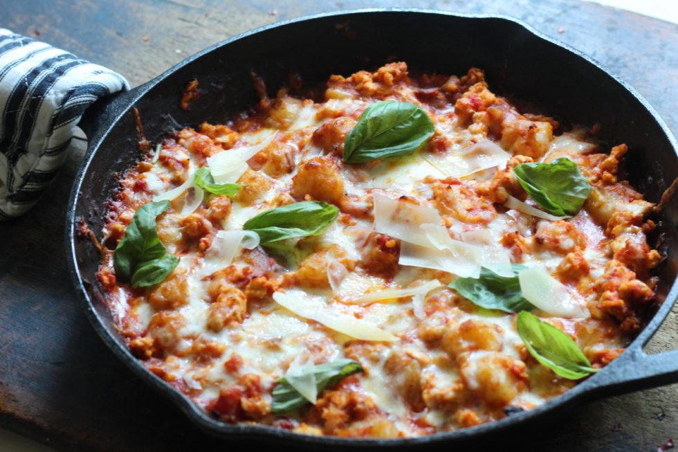 Chicken, Dinner, Quick & Easy, Trader Joe's, Cauliflower, Cauliflower Gnocchi
