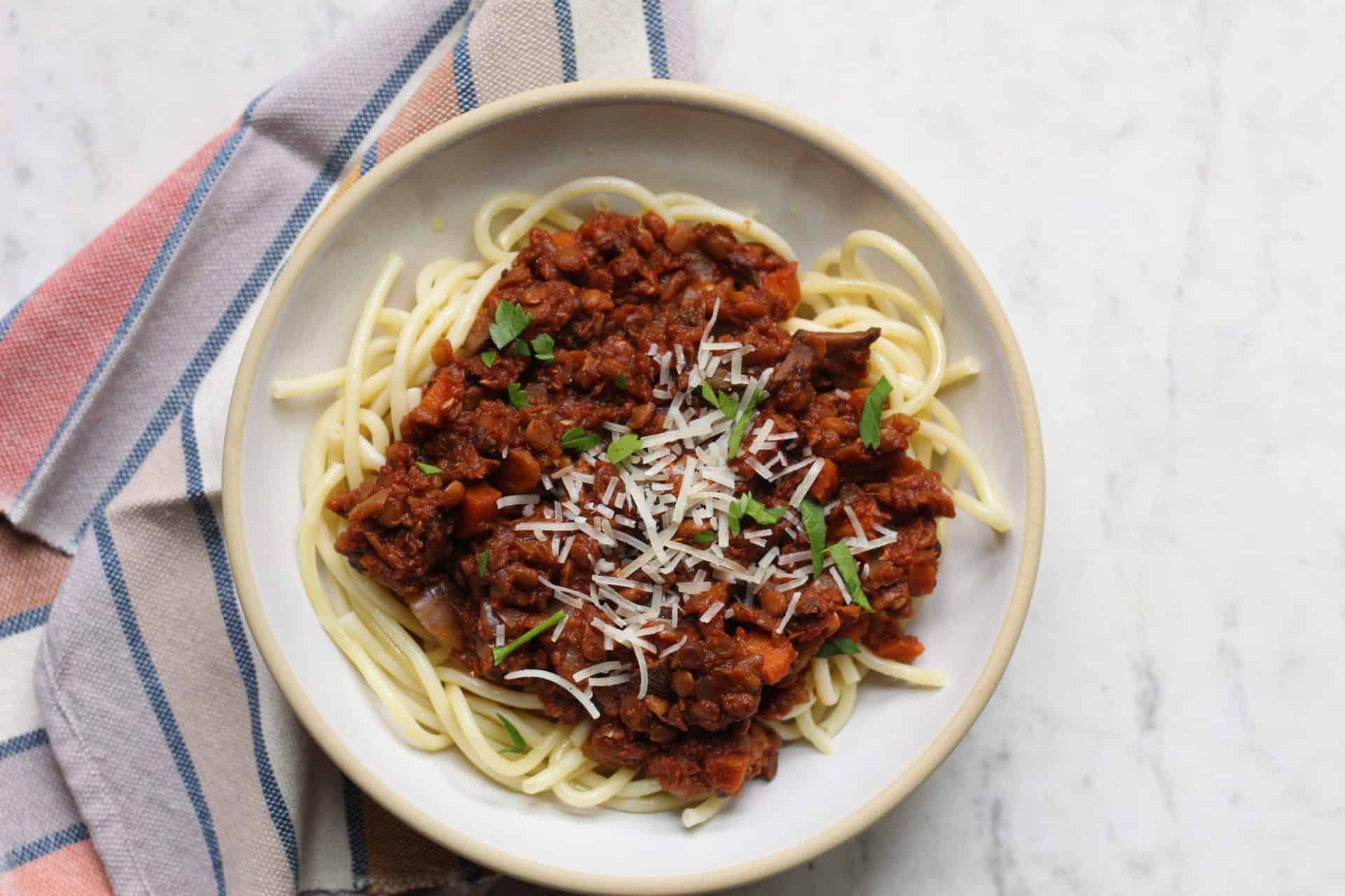 Dinner, Slow Cooker, Quick & Easy, Plant Based, Meatless, Vegetarian, Mushrooms, Lentils