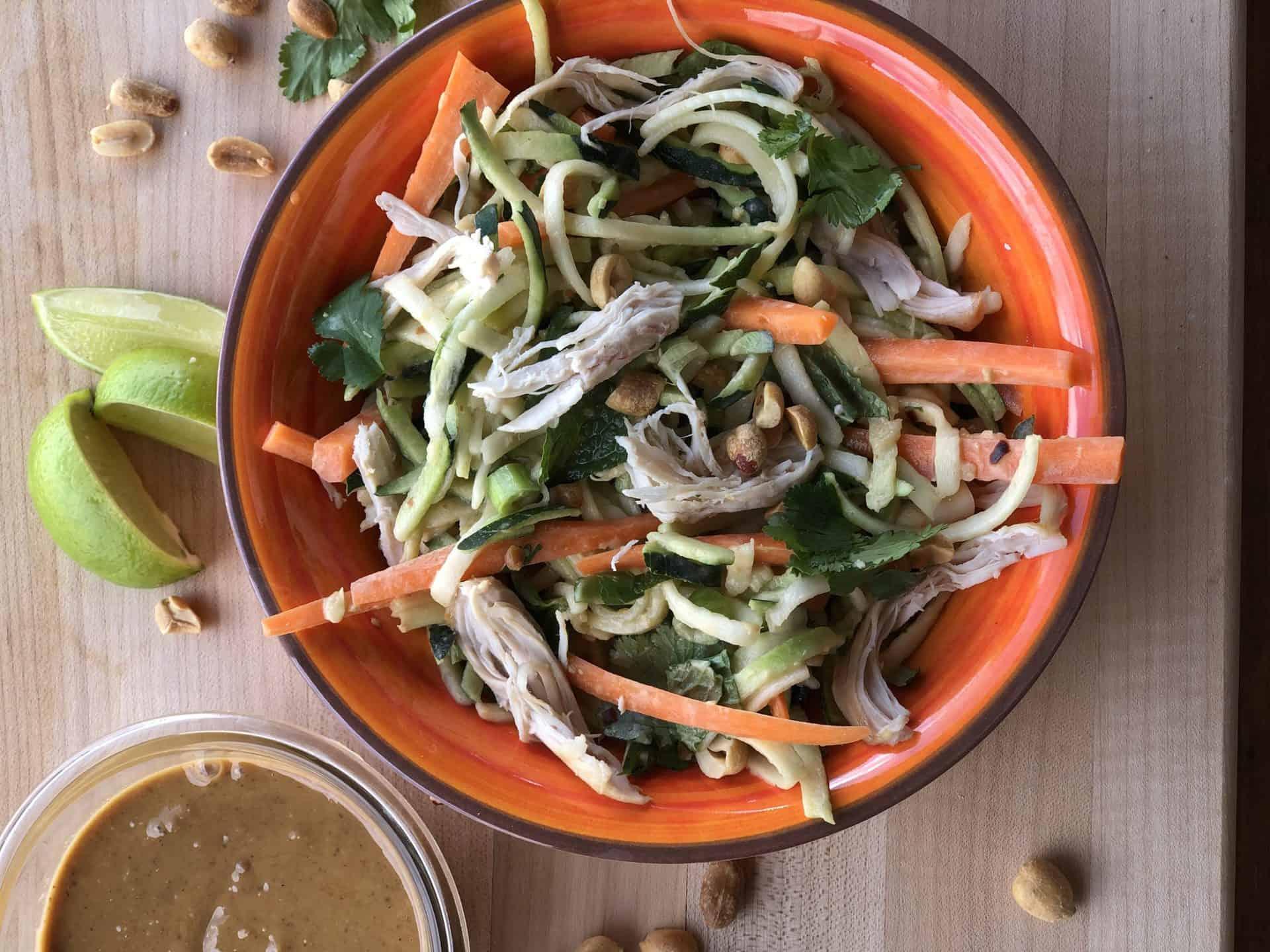 Salads, Dinner, Lunch, Chicken, Peanut Butter, Quick & Easy