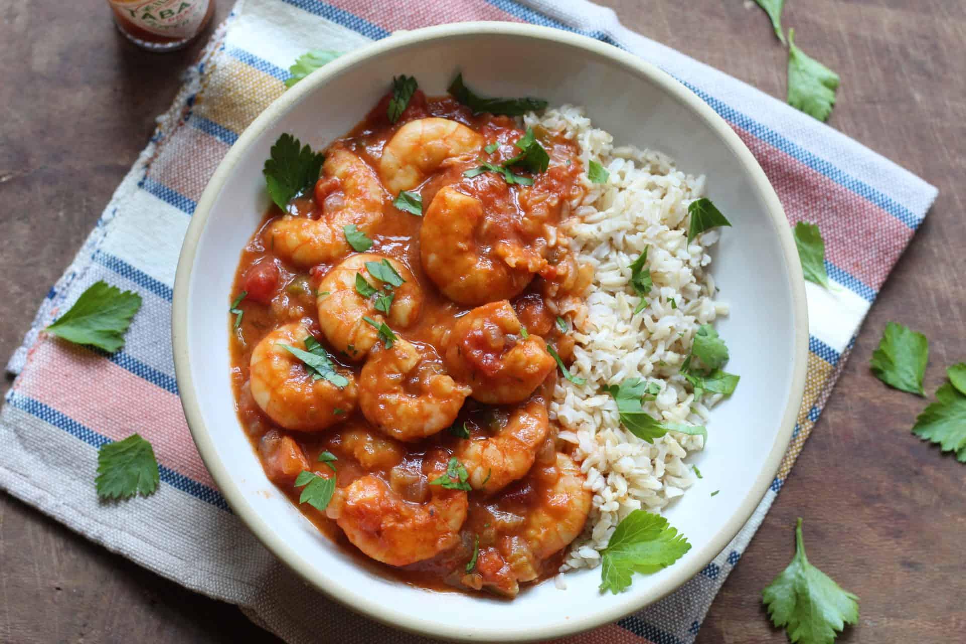 Shrimp, Seafood, Dinner, Summer, Spring, Quick & Easy, One Pot, Bowls