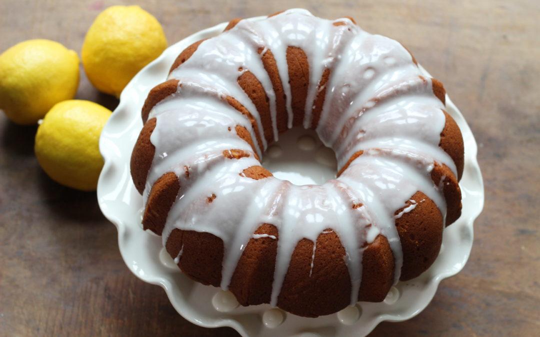 Olive Oil Yogurt Bundt Cake