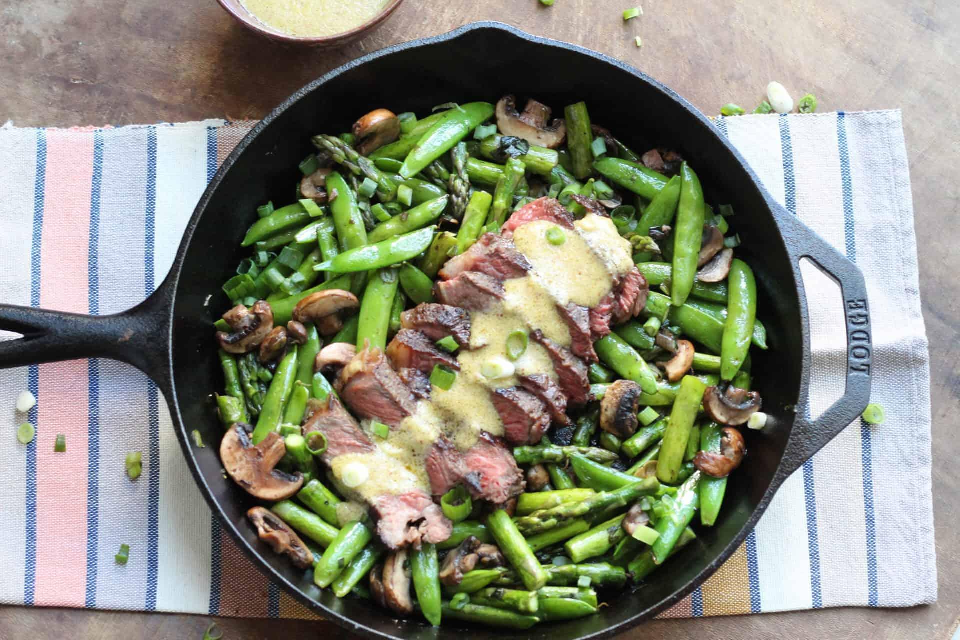Steak, One Pot, Spring, Dinner, Meat