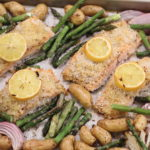 Salmon, Seafood, Fish, Sheet Pan, Quick & Easy, Spring, Asparagus, Potatoes, Dinner