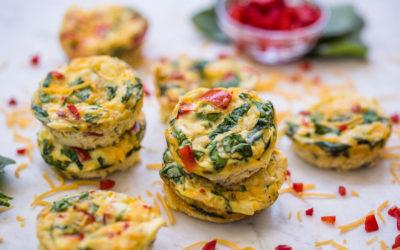Vegetable Frittata Muffins