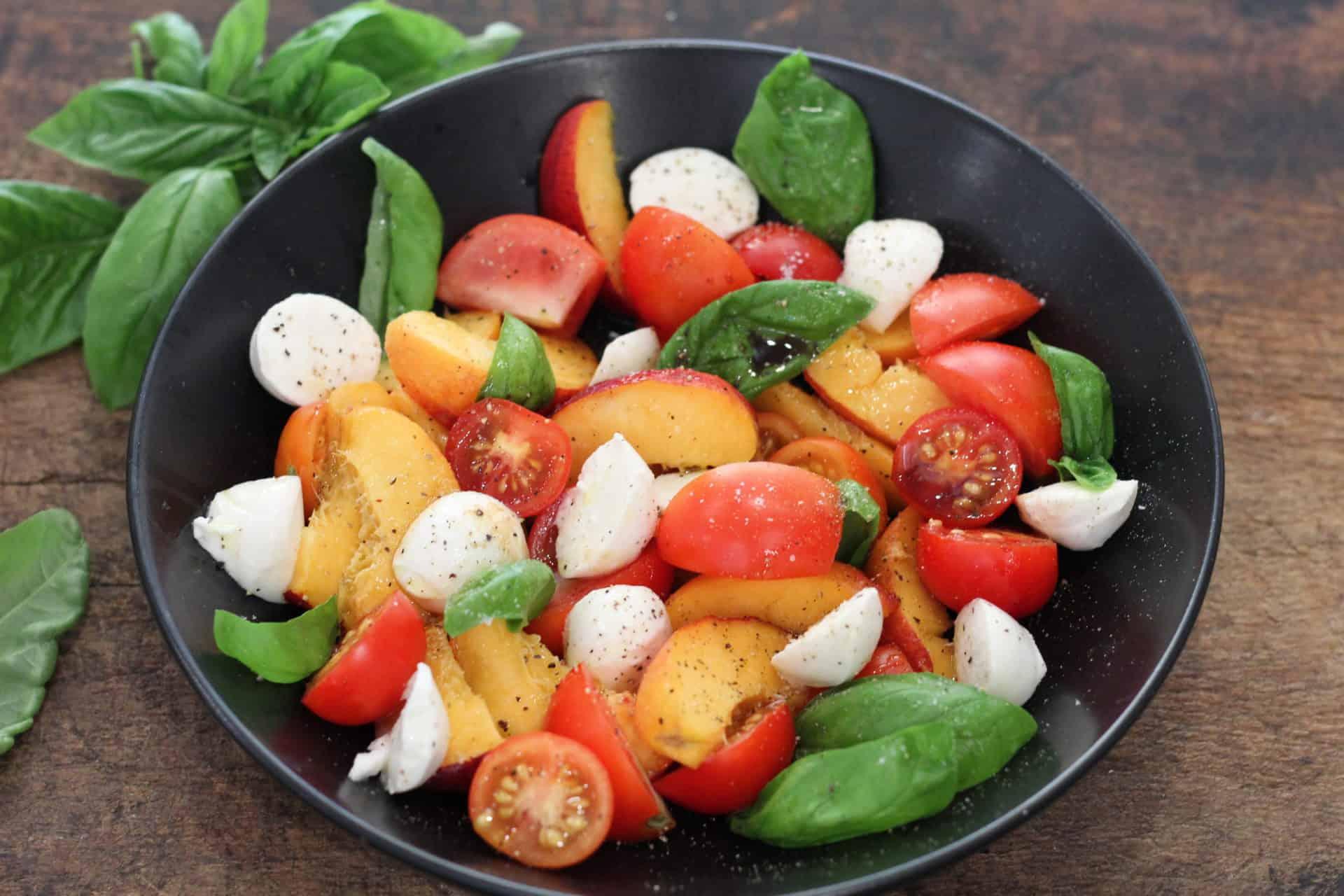 Summer, Salads, Sides, Vegetarian, Quick & Easy, Mediterranean, Mediterranean diet