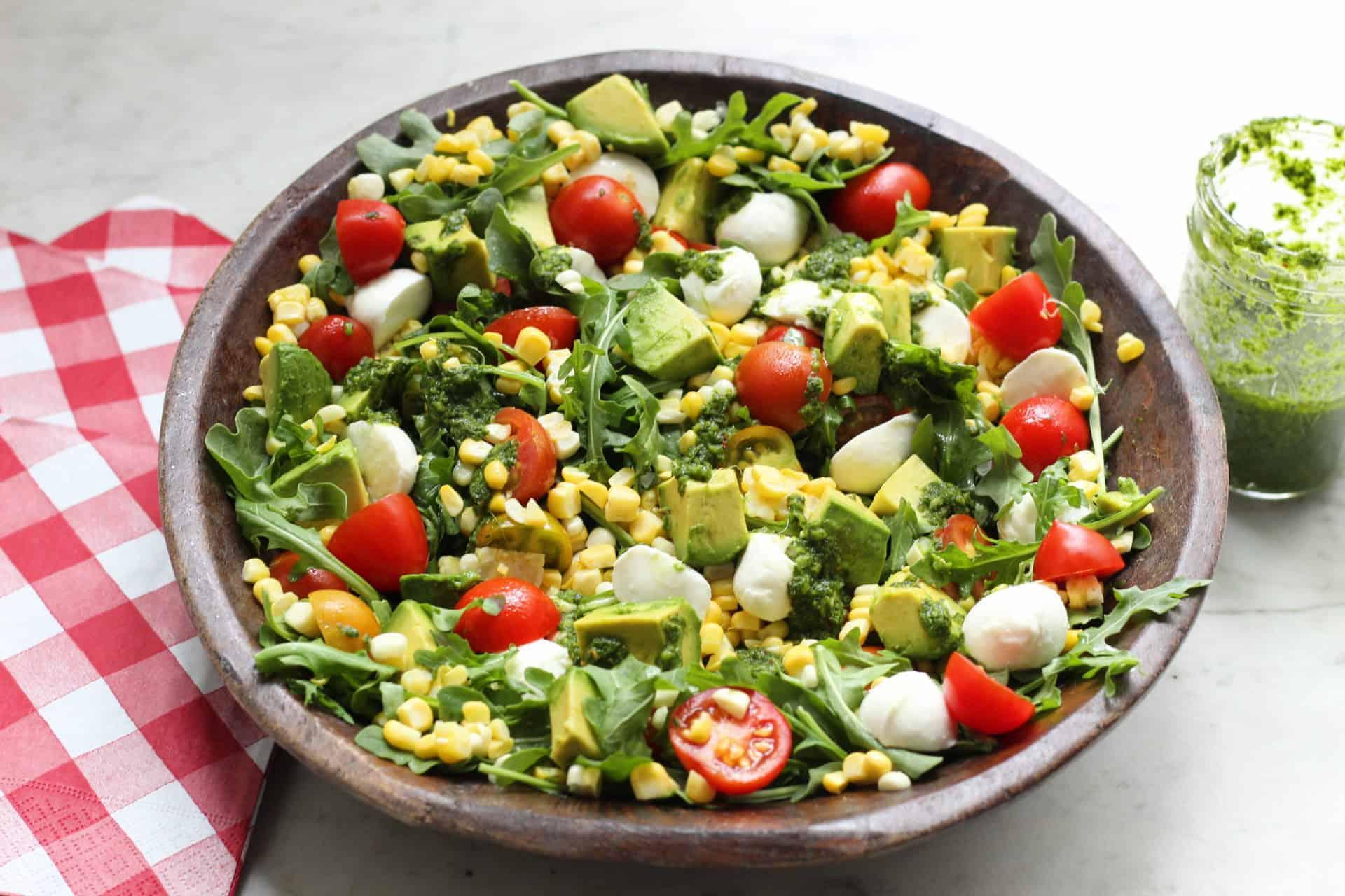 Salads, Side Dishes, Summer, Vegetarian, Gluten-Free
