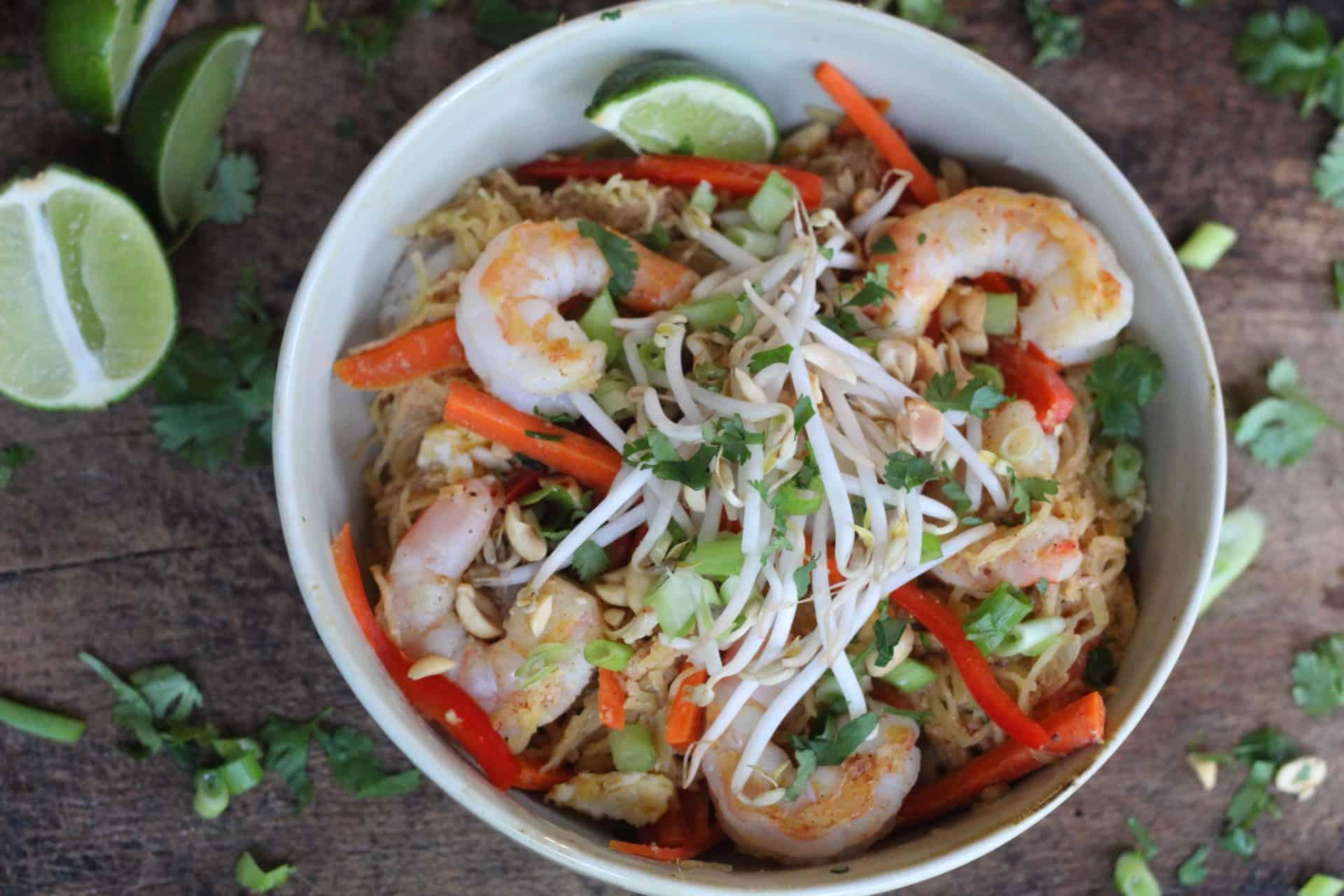 Dinner, Shrimp, Seafood, Thai, Bowls