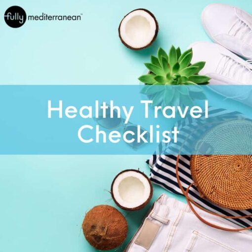 Healthy Travel Checklist Cover Image