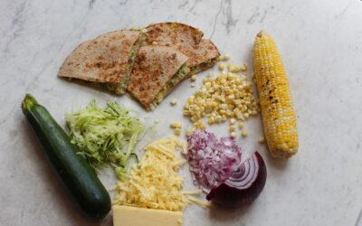 Summer Harvest Quesadilla
