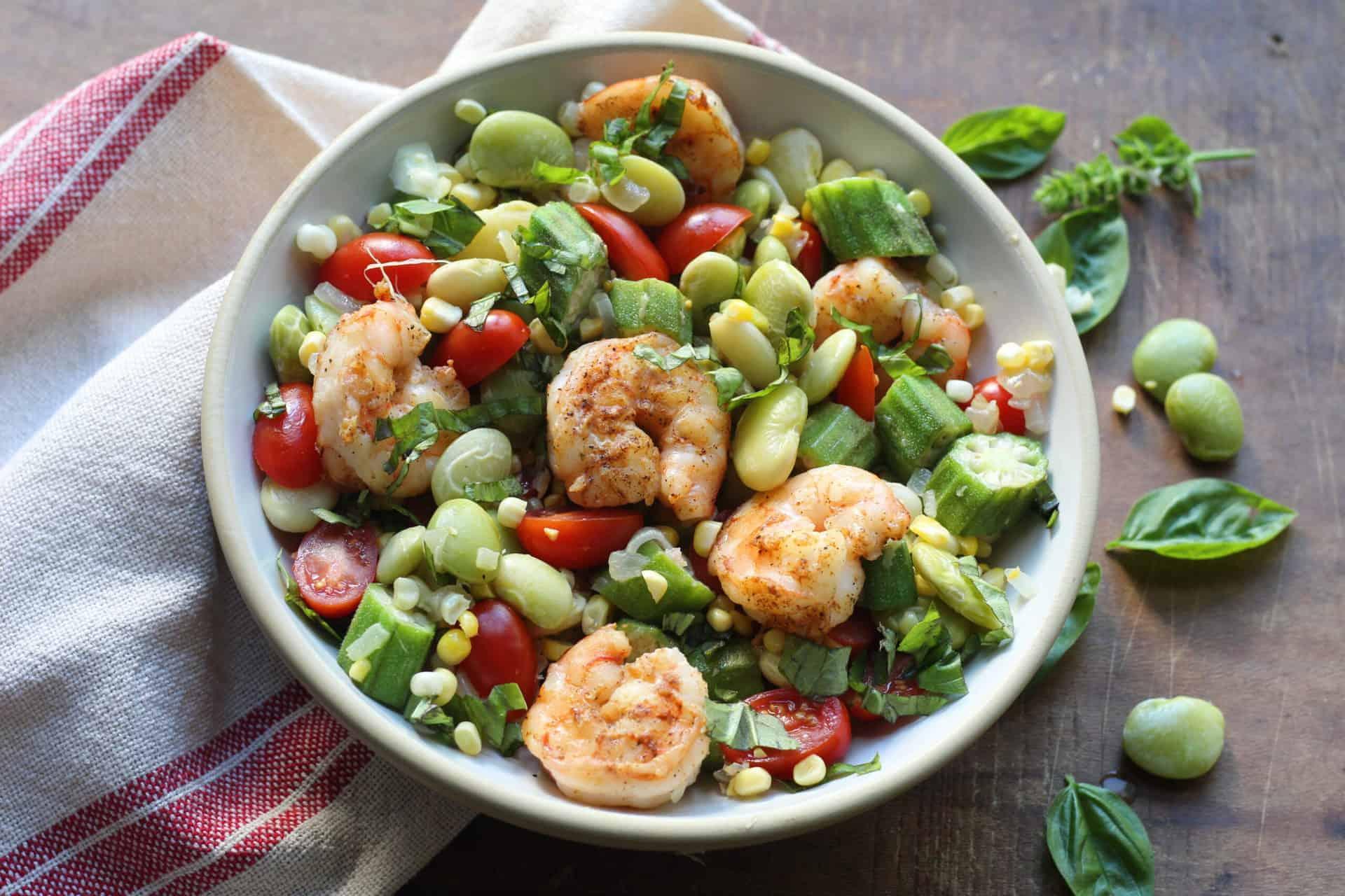 Bowls, Seafood, Gluten-Free, Summer, Dinner, Lunch