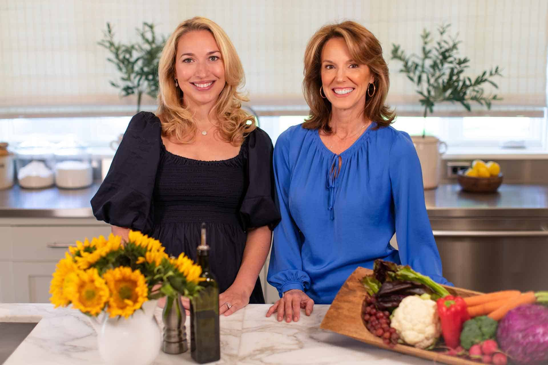 Pam and Claire Fully Mediterranean Course