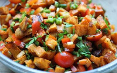 Roasted Sweet Potato Salsa