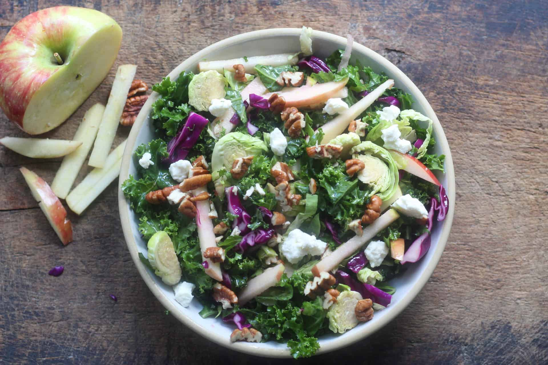 Salad, Fall, Vegetarian, Sides, Mediterranean, Mediterranean diet